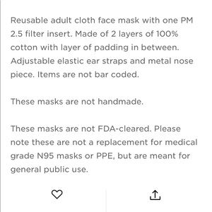 Nurseology Accessories - Light Pink Face Mask With Filter